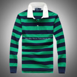 Gestreifter Polo Shirt mit Long Sleeve