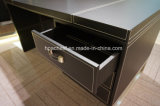 Moderner Metallmöbel-Leder-Büro-Computer-Tisch (B1)