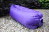 キャンプのSofa Beach Nylon Fabric Sleep Bed Lazy Chair屋外のRed Black Lamzac Hangout Fast Inflatable Lounger Air Sleeping Bag