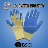 10g 5 Threads Yellow Liner Blue Latex Gloves