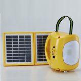 Indicatore luminoso di campeggio solare portatile Ebst-D08b-01 4.5ah