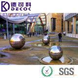 sfera vuota dell'acciaio inossidabile 304 316 con argento, colore dell'oro per 10mm-250mm