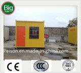 Casa pré-fabricada/Prefab móvel provisória para o lugar da construção