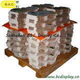 Pappfußboden-Bildschirmanzeige, Papierbildschirmanzeige für energiesparende Lampen mit SGS (B&C-A008)