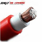 Подземный силовой кабель с резиновый оболочкой и изоляцией