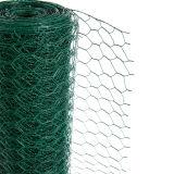 中国の供給の緑PVC上塗を施してある金網の塀