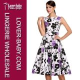 Vêtements de robe de mode de femme de modèle occasionnel (L36086-1)