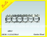 Sakura 6bg1 Hige Quality Engine Gasket Head per Excavator Engine Made in Cina /Japan