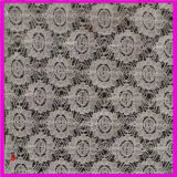 2016 Cotton Textile African Net Embroidery Elastic Lace Fabric