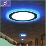 Qualität 12W+4W 2 Color Round LED Panel Light