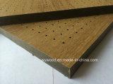 Painel acústico de madeira estratificado de Peforated da alta pressão