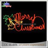 Свет мотива с Рождеством Христовым улицы декоративный 150cm с свечкой