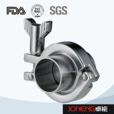 Instalaciones de tuberías higiénicas de la abrazadera de la alta precisión del acero inoxidable (JN-CL1003)