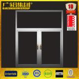 [ألومنيوم] علبيّة يعلّب نافذة وشباك نافذة يفتح اثنان طريق