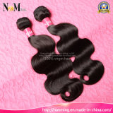Человеческие волосы китайского цвета объемной волны волос девственницы естественного естественные