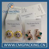 Caixa de exibição de brinco impressa personalizada (CMG-031)
