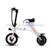 50kmのマイレッジの2車輪の小型折られた電気スクーター
