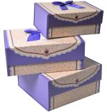 Caixa de presente de papel Foldable colorida