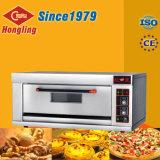 Four électrique commercial de pizza de paquet de double de matériel de traitement au four de Hongling à vendre