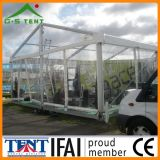 屋外のTransparent Marquee Party Wedding Tent Canopy 12m