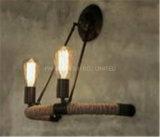 Iluminación interior distintiva decorativa de la lámpara de pared del tubo de agua de Phine