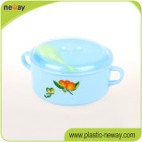 Factory professionale Round variopinto con Handle Plastic Lunch Food Box Containers per Kids