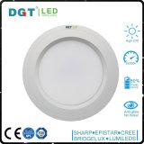 Cubierta blanca blanca montada superficie antideslumbrante de la cubierta LED Downlight
