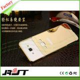 Handy-Deckel der Goldfarben-TPU+PC für Samsung
