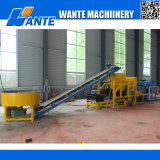 Wante Machinery Qt4-25 Hydraulic Pressed Fully Automatic Hollow/Solid/Interlocking/Concrete Brick Machine Price da vendere
