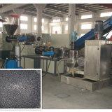 Peletização do plástico e película plástica que recicl a máquina