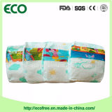 Eine Grad-niedriger Preis-Baumwollhohe Absorbierfähigkeit-Nigeria-Wegwerfbaby-Windel 100%