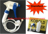 O pulverizador da mão, frasco do pulverizador 32oz do disparador, interno desinfeta o pulverizador