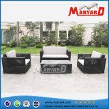屋外の家具のテラスの家具のPEの藤のソファー