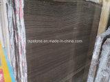 コーヒー大理石の平板のための木製の静脈の大理石