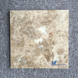 Mattonelle di pietra naturali personalizzate di Emperador Brown dell'indicatore luminoso