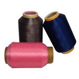 El aire teñido droga de los hilados de polyester DTY cubrió el hilado