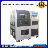 Cortador preciso do laser da fibra do metal PCB/FPC 150W da folha e da tubulação da liga