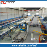 Extrusion de alumínio Profile Cooling Table/Handling System com Final Saw