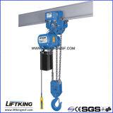 Gru Chain elettrica di velocità doppia di Liftking 7.5t con il carrello elettrico (ECH 7.5-03D & ET-7.5D)