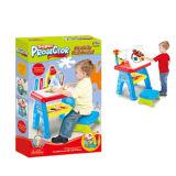 Kinderen die het Intellectuele Stuk speelgoed van het Tekenbord van de Lijst (H6094045) leren