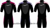 再使用可能な水泳の赤ん坊のおむつ、暖かいウェットスーツ、浮力の水着。 Wm028
