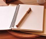 Venda por atacado em branco do caderno espiral da tampa do papel de embalagem