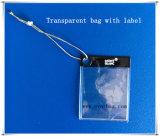 Het plastic Etiket Cover&Bag van Juwelen. De Plastic Dekking van pvc van de markering