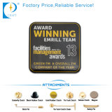 Qualitäts-Fabrik-Preis China passte das Metall an, das gedrucktes Pin-Abzeichen von China stempelt