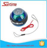 Boule de poignet de compas gyroscopique de puissance du programme test LED de poignet de qualité, boule de poignet de compas gyroscopique de puissance, boule de poignet