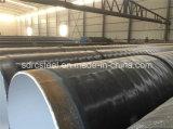 línea soldada capa tubo del epóxido de la tubería 3lpe