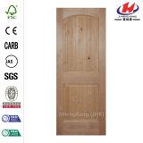 Hölzerne Tür der glatten Innenplatte-2-Panel