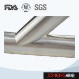 Encaixe de tubulação soldado da câmara de ar do produto comestível de aço inoxidável (JN-FT1005)