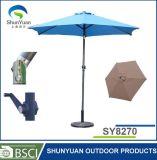 亜鉛合金の傾きのテラスの傘(SY8270)が付いている9つのFTの不安定な傘