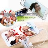 小型ファン、USBの自己のタイマーのレバーのファンが付いているMonopod小型Selfieの棒
